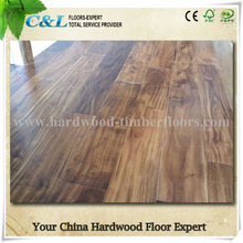 Chinese factory made solid acacia wood flooring