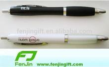 custom logo plastic black pen