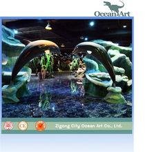 aquarium marine penguin model