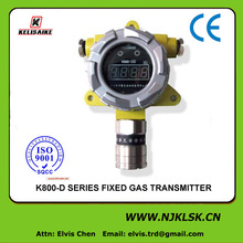 K800 Fixed high sensitiviy H2S gas detector for H2S gas monitor industry safety equipment