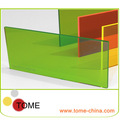 Cor folha de pmma, cor polimetilmetacrilato, clear placa de vidro orgânico