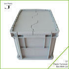 PP packing crates plastic bucket cheap attached covers