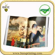 softcover magazine design printing