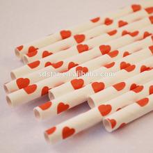 wedding accessories 6mm paper straws
