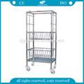 Ag-ss072 CE & ISO aprobado de lavandería carros y maleta con ruedas