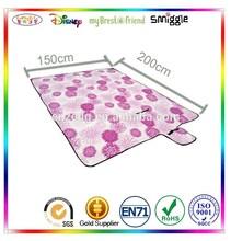 pp woven foldable beach mat & picnic mat