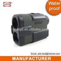 water proof 6*24 400mt Laser Golf rangefinder saber hunting knives