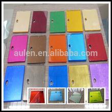 colored acrylic/pmma/plexiglass plastic mirror sheet