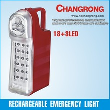 cheap plastic battery operated led emergency light