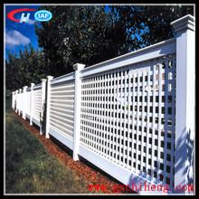New Type Beautiful PVC Lattice Fence Trellis
