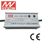 100W 36V IP65 CE RoHS led lamp driver