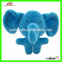 M956 blue elephant Plush doll