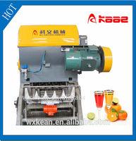 Industrial Orange juice extractor manufactured in Wuxi Kaae