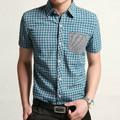 corea moda nuevo camisas para hombre camisas casuales 2014