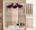 rideau en tissu drapé plafond de luxe