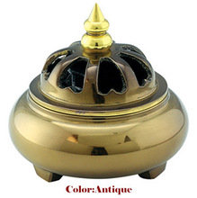 High quality well price copper antique Incense burner /censer/thurible