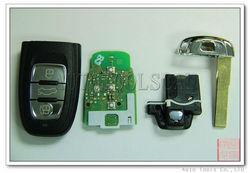 A4L A4 car key Q5 for Audi smart remote key 868nhz 3 Button AK008014