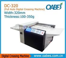 2014 new machine digital creaser&hot machine auto paper creasing machine