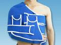 el hombro de apoyo médico de inmovilización de la espuma del brazo cabestrillo ajustable del brazo cabestrillo