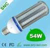 54W LED Street lamp E27 E40 100-130lm/w led street bulb 54w
