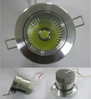 low price!! 9W silver finished recessed type with china zhongshan factory supplier price led down light