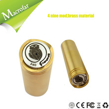 E cig guenon pattern picture mod 4 nine with competitive price