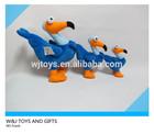 custom soft gift toys plush birds for promotion