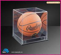 Simple Transparent Acrylic Basketball Display Case