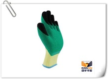 new double color rubber mechanical glove