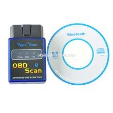 New mini V1.5 ELM327 OBD2 Wireless Bluetooth Auto Car Diagnostic Interface Scanner Tool