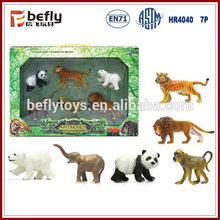 2014 yüksek kaliteli orman hayvan plastik oyuncak