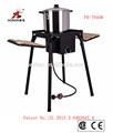 haute pression grill barbecue à gaz de cuisine en plein air