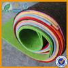 Colored non woven polyester felt