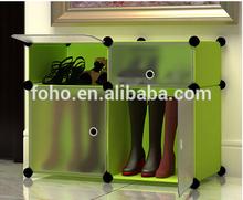 2014 hot sale 4 cubes plastic bedroom closet organizers FH-AL0511-4