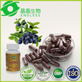 A base de hierbas suplemento alimenticio extracto de la planta acai berry