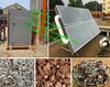 big capacity solar energy fruit and vegetable drying machine