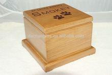 pet accessories wholesale china wooden pet casket