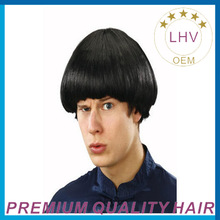 Cheap 100% best quality Indian human hair toupee for men