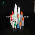 5-120ml semitransparente pe plástico frascos conta-gotas