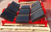 belt conveyor supporting structure conveyor belt impact bed
