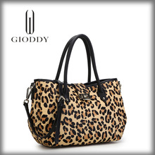 The first layer cowhide leather zebra print handbags