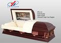 American estilo de ataúd de madera/ataúd de madera/ataúd de metal
