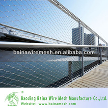 7x7 Stainless Steel Bridge Decorative Rope Cable Fence
