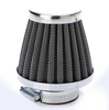 58mm 54 52 50 48 42 39 38 35 mm Stainless Steel Pod compress air filter Fit To Pit Bike ATV Quad Between 125cc to 250cc