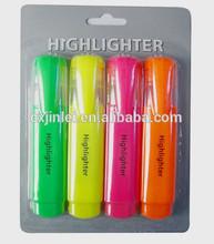 Flat Highlighter Pen/Fluorescent pen-High Quality/Non-toxic