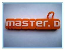 Shinny Gifts Wholesales Your Brand in PVC Letter Shape USB Flash Drive SI-FDP00015