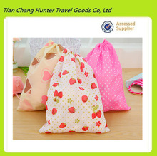 Non-woven dust bag, portable travel drawstring shoe bags, small objects travel pouch bags