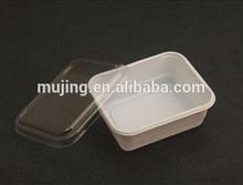 atacado clara alimentos recipiente plástico com tampa