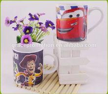 2014 Cartoon cup glass ceramic mug mini animals for drinking