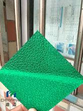 costomized UV coated poldycarbonate pebble sheet